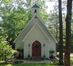 Vintage Vows Wedding Chapel, Scottsboro, AL - what a cute place to get married if you live in AL!