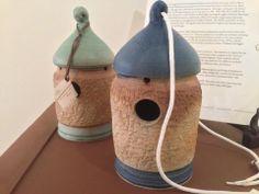 Birdhouses by Mary Fox