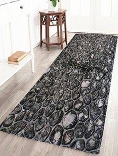 Plank Floral Soft Absorption Large Bathroom Rug HOME DECORE - Floral bathroom rugs for bathroom decorating ideas