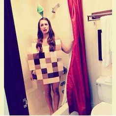 Blurred Out -- Last Minute Halloween Costumes For Men And Women