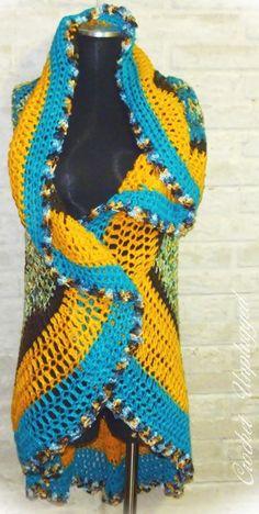 CrochetUnplugged circle vest