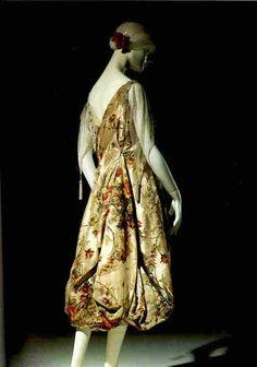 Callot Soeurs evening dress, 1915 From Beverley Birks