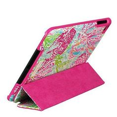 Lilly Pulitzer iPad Mini Case with Stand in Lets Cha Cha if only I had an I pad mini