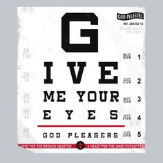 TB0281 Give Me Your Eyes