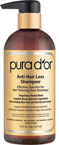 PURA DOR Original Gold Label Shampoo Clinically Tested Effective Solution for Hair Thinning Infused with Organic Argan Oil Biotin and Natural Ingredients 16 Fl Oz ** You can get more details by clicking on the image. (This is an affiliate link) Anti Hair Loss Shampoo, Shampoo For Thinning Hair, Hair Growth Shampoo, Hair Shampoo, Hair Loss Cure, Hair Loss Remedies, Prevent Hair Loss, Biotin Shampoo, Hair