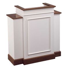 No. 810W Wing Pulpit - Colonial style