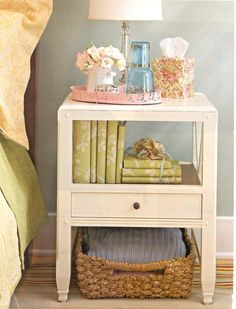 TUMBLED // Another great idea for a guest room.
