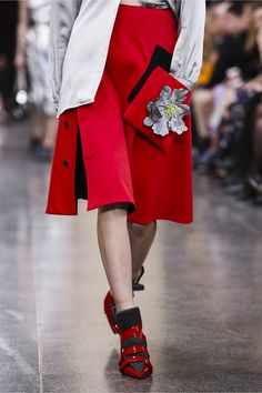 The interesting thing about a Christopher Kane collection is there are always so many micro collections running through them – harking back to his previous greatest hits. So even though he&rs...