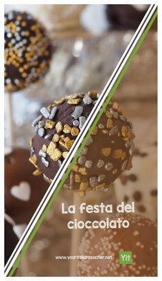 """Come with me at the """"Chocolate party"""" and learn new Italian words to talk about chocolate!"""