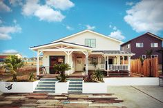 Today's gorgeous feature home is a modern rustic cottage set by the seaside to provide a surfing oasis for its occupants. Surf House, My House, Beach House, Diy Interior, Interior And Exterior, Provence, Floating Shelves Bedroom, Cute Cottage, American Houses