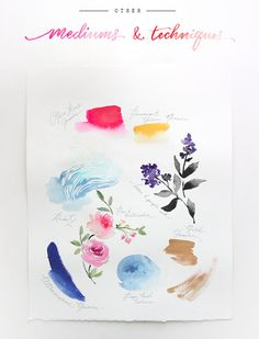 Watercolor Archives - The Alison Show