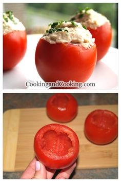 Stuffed Tomatoes with Tuna Salad Recipe