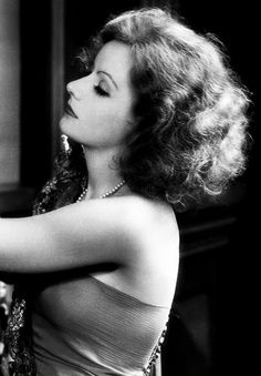 GRETA GARBO, about early 1930's