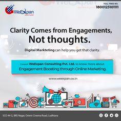 Content Marketing, Online Marketing, Social Media Marketing, Digital Marketing, Ecommerce Solutions, Business Management, Business Branding, Engagements, Web Development
