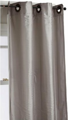 Regal Home Collections Ultimate 54-Inch by 84-Inch Decorative Grommet Interlined Faux Silk Panel, Platinum by Regal. $39.99. Energy efficient interlining will help cut heating and air conditioning costs Reduce outside noises Room darkening. Measures 54-inch W by 84-inch L. Panels are sold separately, not as pairs. 100% Polyester. 100-Percent polyester; Easy care, machine wash. Easy installation; Will fit decorative rod up to 1-1/2-inch in diameter. Update any space with deco...