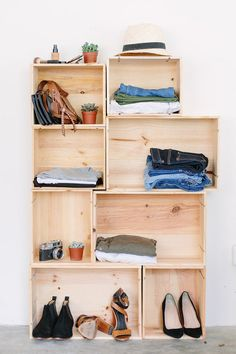 Diy Box Wardrobe