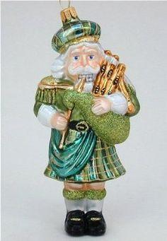 scottish glass christmas ornaments - Google Search