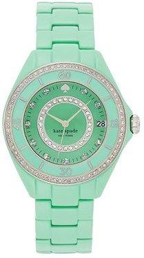 Kate Spade 'seaport Grand' Crystal Enamel Bracelet Watch, 38mm on shopstyle.com