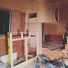 Here's a tip. Don't try to level a kitchen worktop when the van is up on ramps. Doh. #vanbuild #vanlifediaries #sprintervan #vanlife #sprinterbuild #sprinterconversion #campervan #selfbuild #vanconversion #getoutstayout #gtfoutside #diyvan #homeiswhereyouparkit #builtnotbought #vanlifers #tinyhouse #smallhouse