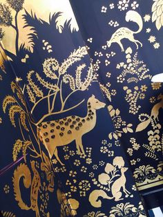 De Gournay Decorex 2014 inspired by Jeanne Lanvin and Armand Rateau