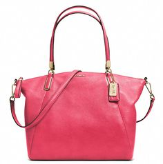 Coach :: Madison Kelsey Satchel In Leather - love this color!