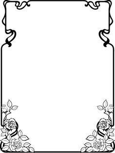 Clip Art Page Borders | Free Black and White Clip Art Borders 022812» Clip Art