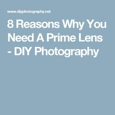 Most of us rely on a collection of zoom lenses geared towards covering all our bases. Here are just seven of the many reasons you also need at least one prime lens. Photography Basics, Art Photography, Prime Lens, Zoom Lens, Tutorials, Tips, Ideas, Fine Art Photography, Thoughts