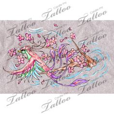 Looking for the perfect tattoo design? Here at Create My Tattoo, we specialize in giving you the very best tattoo ideas and designs for men and women. We host over unique designs made by our artists over the last 8 y I Tattoo, Cool Tattoos, Create My Tattoo, Tattoo Phoenix, Cherry Tattoos, Tattoo Ideas, Tattoo Designs, Feminine Tattoos, Custom Tattoo