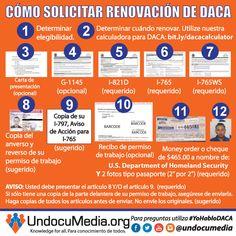 DACA Renewal | DACA | Pinterest