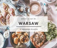 Are you wondering where to eat in Warsaw? Find out our guide to 21 best restaurants and cafes in Warsaw, Poland.