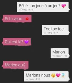 marions nous sms