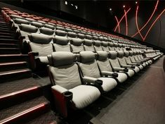 A Premium Verona and Premium Opus cinema seating solution designed by Ferco for Cinema City Cinema Chairs, Cinema Seats, Cinema Theatre, Theatre Design, Movie Theater, 60th Birthday, Birthday Gifts, Sharjah, Theatres