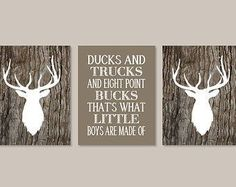nice Baby Boy Nursery Decor Deer Antler Rustic Nursery Country Nursery Quote Monogram Set of 4 Prints Boy Playroom Boy Bathroom Hunting Bedroom by www.best-home-dec. Baby Boy Nursery Decor, Baby Boy Rooms, Baby Boy Nurseries, Boy Bedrooms, Nursery Art, Deer Themed Nursery, Rustic Nursery Boy, Nursery Ideas, Hunting Theme Nursery