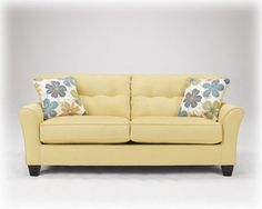 664 Kylee Goldenrod Sofa At Metro Decor Furniture.