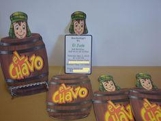 El Chavo del Ocho Party Invitations or Thank you by HappyToons