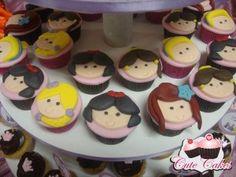 Mini cupcakes Princesas Disney Larissa