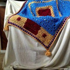 Magic Carpet throw (or rug!)--Cypress Textiles