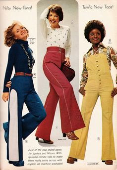 Kathy Loghry Blogspot: That's So 70s - High Rise Pants (Part 3) Aldens Style!!