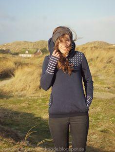 Seemannsgarn: Maritim Kapuziert in Dänemark • {RUMS #11}