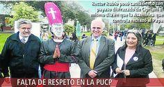 EL DESVIRTUAMIENTO DE LA PUCP EN IMÁGENES Dos escenas, un abismo - Tradición y Acción por un Perú Mayor