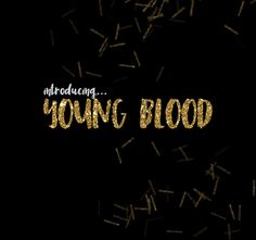 Young Blood Brush Font by OnTheSpotStudio on @creativemarket