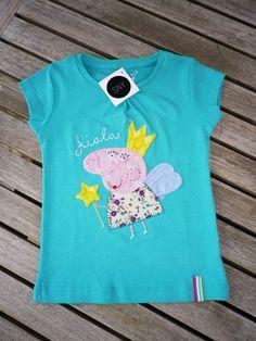 Camiseta aplicaciones Peppa Pig