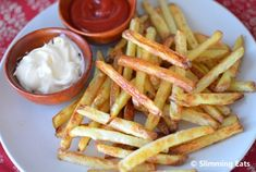 How to Cook Perfect Baked Oven Fries | Slimming Eats - Slimming World Recipes