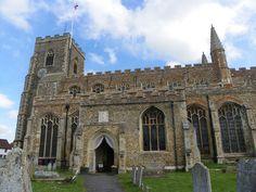 The parish church at Clare, Suffolk, UK #churches #catholic #photos #christianity