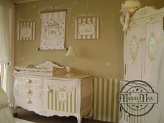 This was destined to be my future baby girl's room. It even has the name Emma, which I grew up being obsessed with! Girl Nursery, Nursery Ideas, Future Baby, My Dream Home, Grandkids, Baby Love, My House, Destinations, House Ideas