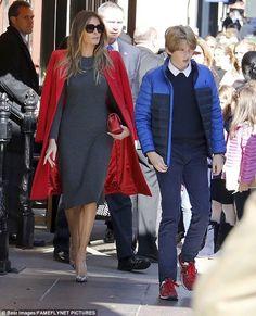 America's beautiful First Lady Melania Trump with son Barron ~@guntotingkafir GOD BLESS AMERICA AND GOD BLESS PRESIDENT TRUMP!!!