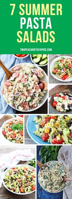 7 Summer Pasta Salads | Two Peas & Their Pod | Bloglovin'