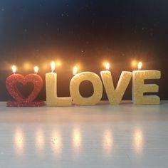Deco handmade candles