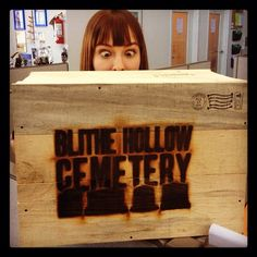 Veronica Belmont gets a special delivery from Laika House!