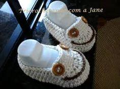 Resultado de imagen para graficos sapatinhos de croche para bebe